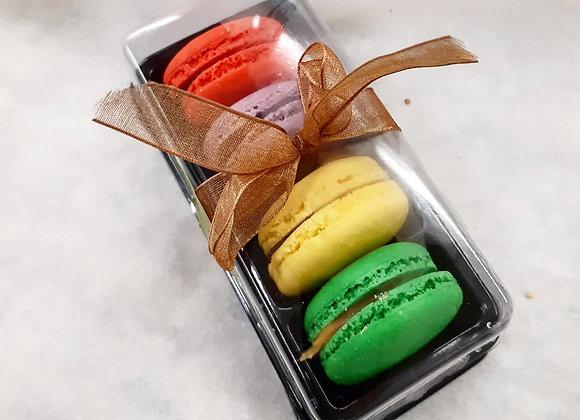 Macarons - Boîte de 4 (choix du chef)
