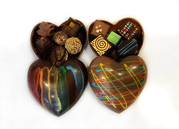 Grand coffret 6 chocolats