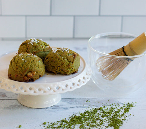 Matcha Cookies (Paleo)