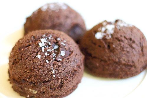 Dark Chocolate sea salt Cookies (paleo)