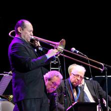 Jason Jackson solos during the 2019 Lionel Hampton Jazz Festival, University of Idaho