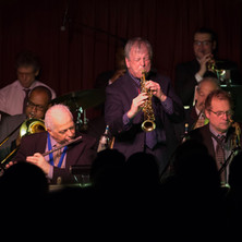 """Dick Oatts solos on """"Don't You Worry 'Bout A Thing"""" during the VJO's 50th anniversary celebration at the Village Vanguard, February 2016"""