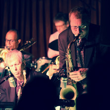 Rich Perry solos during the VJO 50th anniversary celebration at the Village Vanguard, February 2016