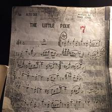 """Lead alto part for """"The Little Pixie"""""""