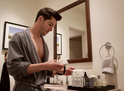 A MASCULINE BATH ENHANCER THAT WILL RESHAPE YOUR SOAKING EXPERIENCE