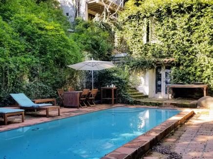 This 1920s Hollywood Hills Fixer Is The Former Home of Marilyn Manson