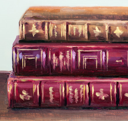 Antique Books with Gold_4