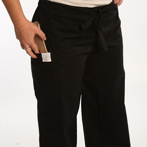 Slim Fit Scrub Pants