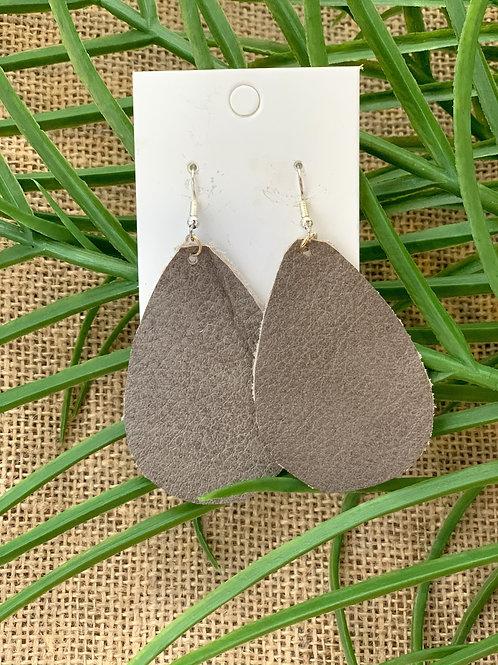 Molaine Leather Earrings