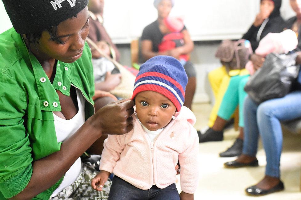 Chances for Children child in Haiti.