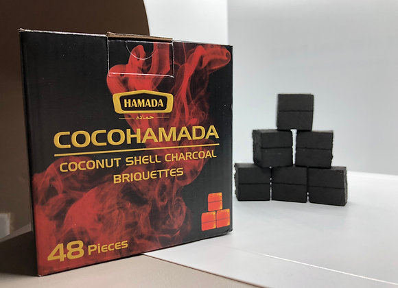 10+2 free COCO HAMADA CHARCOAL 48 Piece in box