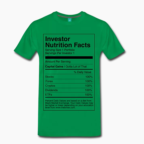 Nutrition T-Shirt [Green]
