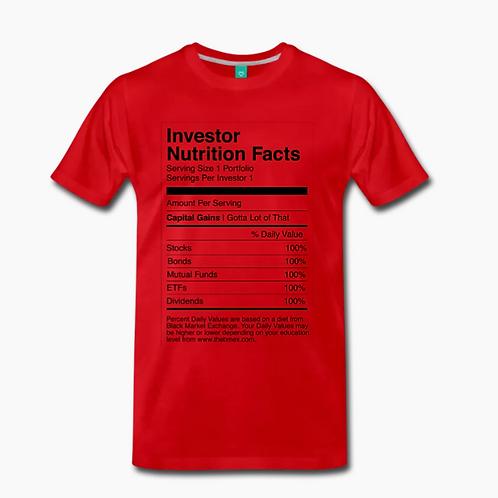 Nutrition Retro T-Shirt [Red]
