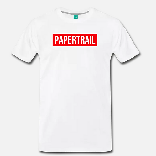 PAPERTRAIL T-Shirt [White]