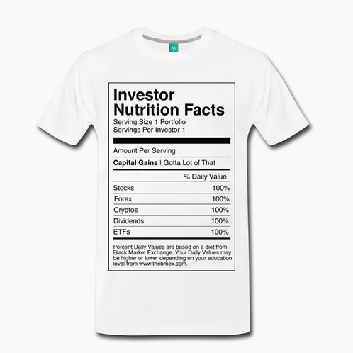 Nutrition T-Shirt [White]