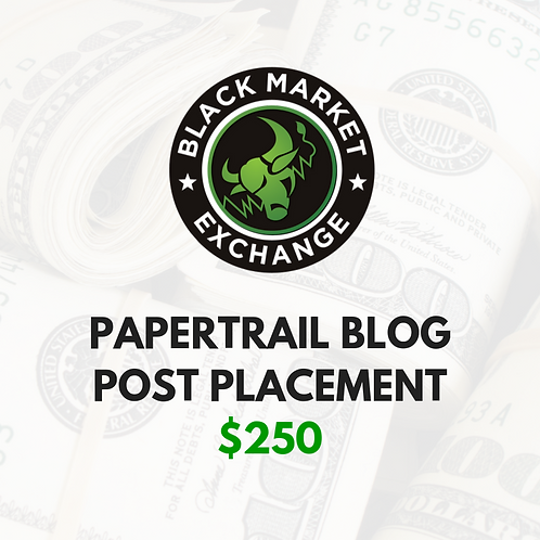 PAPERTRAIL Blog Post Placement