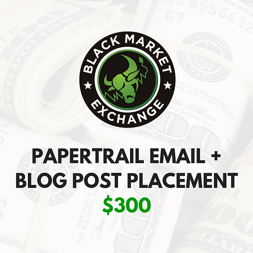 PAPERTRAIL Email + Blog Post Placement