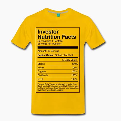 Nutrition T-Shirt [Yellow]