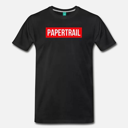PAPERTRAIL T-Shirt [Black]