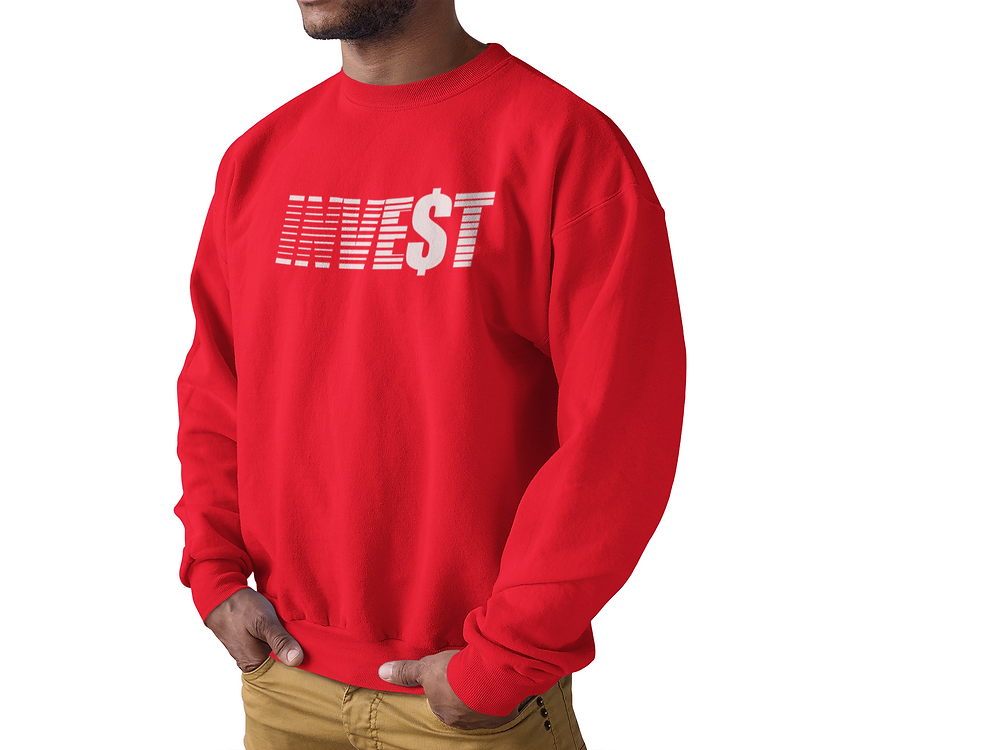 INVE$T Crew Neck [Red]