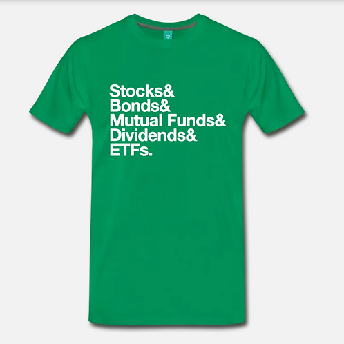 Money Stack Retro T-Shirt [Green]