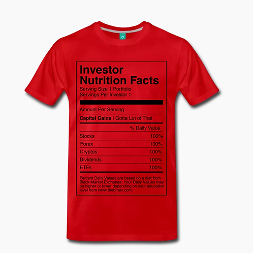 Nutrition T-Shirt [Red]