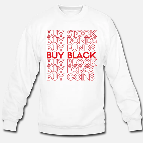 Buy Black Crew Neck [White]