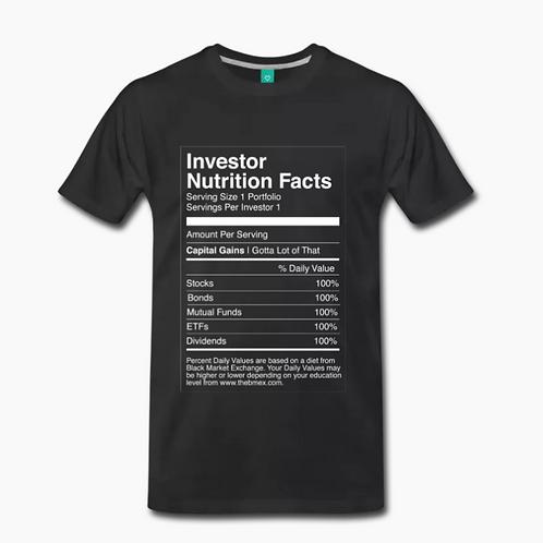 Nutrition Retro T-Shirt [Black]