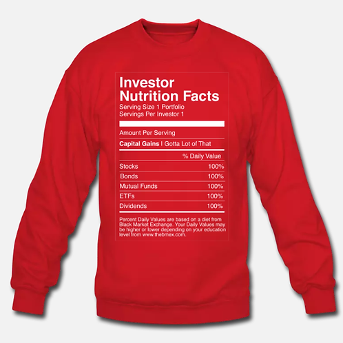 Nutrition Retro Crew Neck [Red]