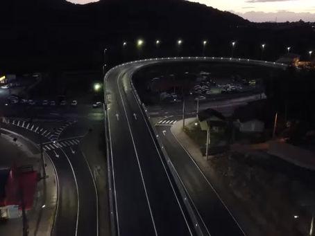 Conpesa entrega o elevado do Rio Tavares