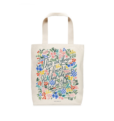 TOTE BAGS-SEEING FLOWERS