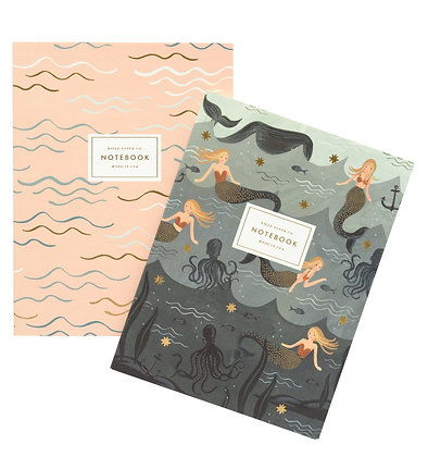 NOTEBOOKS SET2-MERMAID 6*8