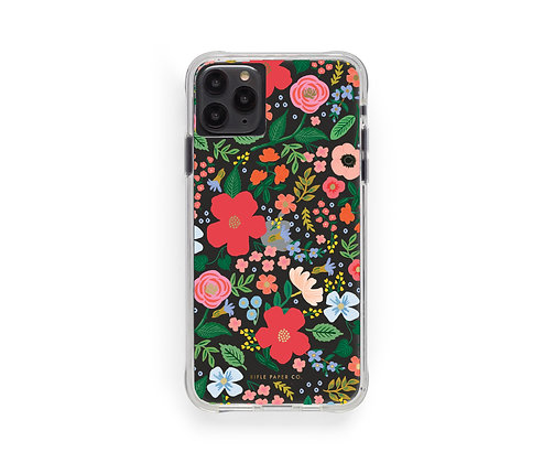 IPHONE CASES 11 PRO MAX-CLEAR WILD ROSE
