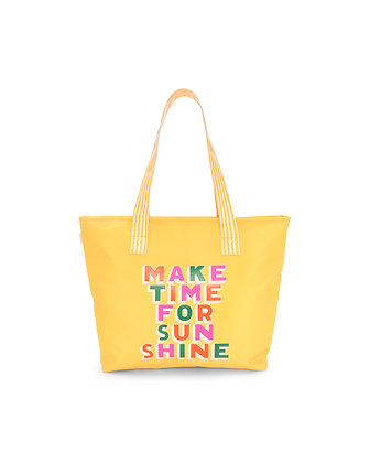 JUST CHILL OUT COOLER BAG, MAKE TIME FOR SUNSHINE