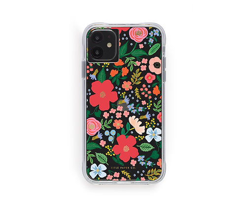 IPHONE 11 CASES-CLEAR WILD ROSE