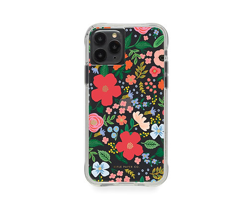 IPHONE CASES 11 PRO-CLEAR WILD ROSE