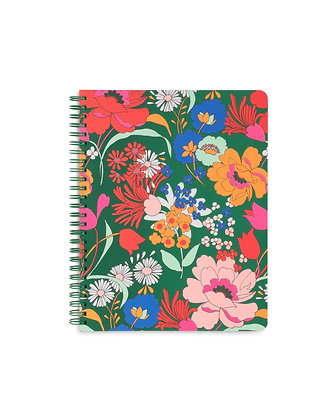 ROUGH DRAFT MINI NOTEBOOK, SUPERBLOOM (EMERALD)