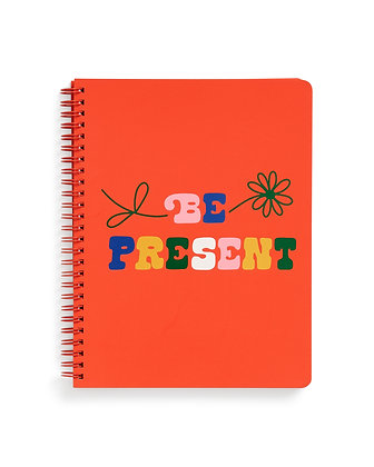 ROUGH DRAFT MINI NOTEBOOK, BE PRESENT