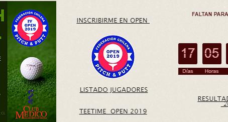 Falta 17 días para el IV Open de Chile
