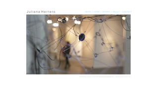 Website | Artist Juliana Herrero