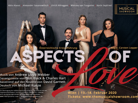Aspects of love Cast