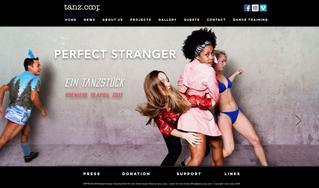 Website | Re-Design for Tanzcoop