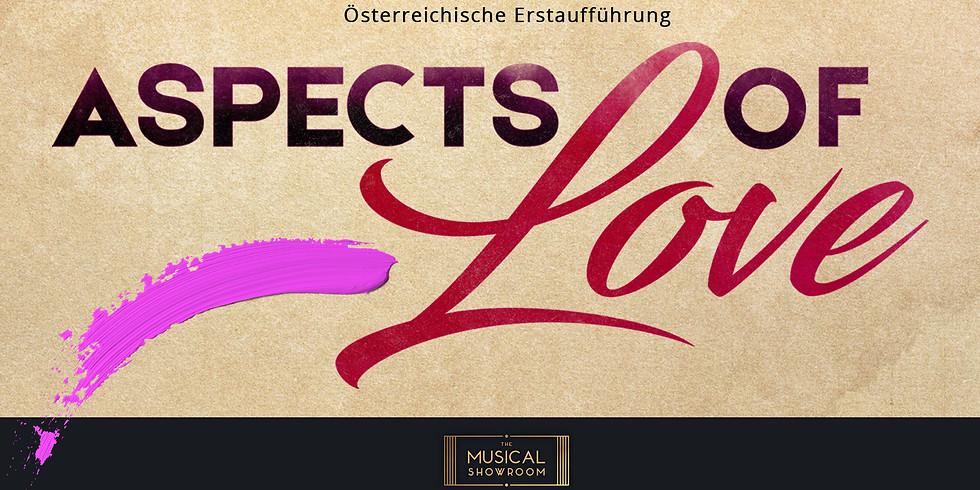 ASPECTS OF LOVE  17.02.2020 | AUSVERKAUFT