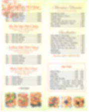 Hot & Spicy dishes, American Dinners