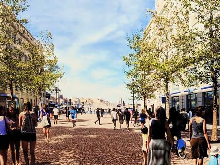 Et oui à Marseille, on offre la Canebière aux piétons !