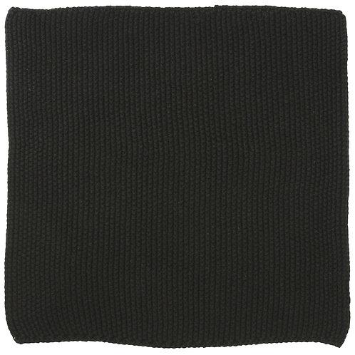 Spüllappen schwarz gestrickt
