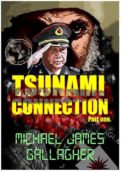 International political intrigue espionage thriller, Tsunami Connection