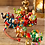 Thumbnail: Decorative multi coloured elephants