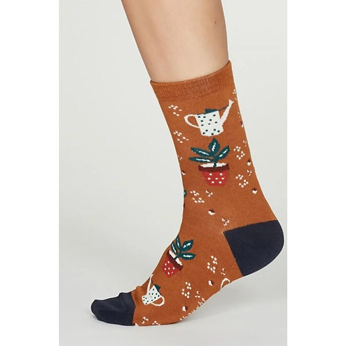 Amber allotment sock