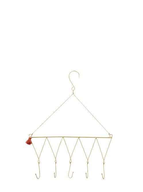 Antique brass wire hanger